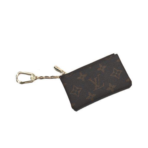 Louis Vuitton Monogram Key Ring Coin Purse