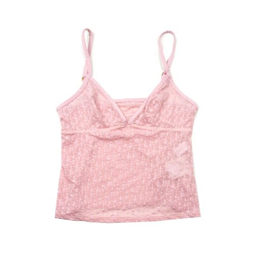 Dior Monogram Sheer Vest Baby Pink