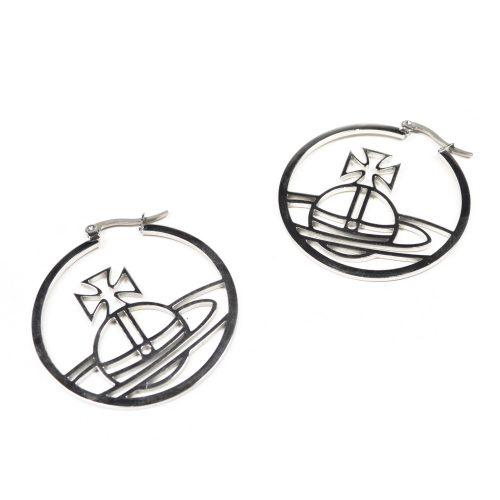 Vivienne Westwood Orb Hoop Earrings