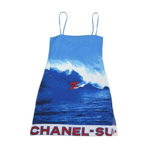 Rare Chanel Surf Cami Dress 2002