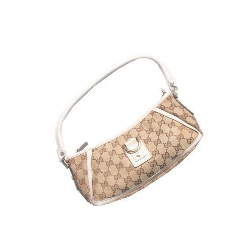 Gucci Monogram Baguette Bag