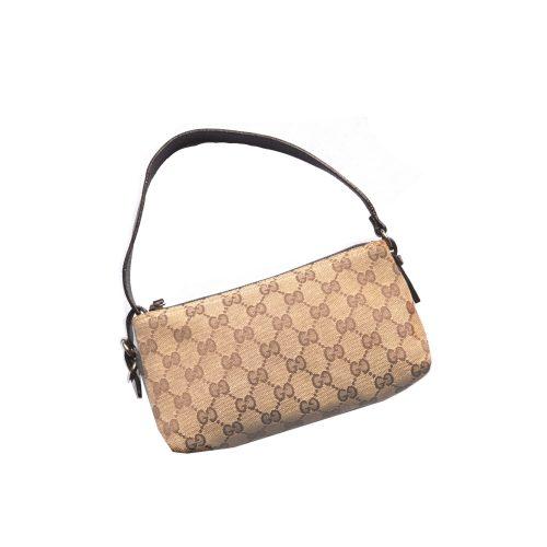 Gucci Monogram Mini Pochette Bag