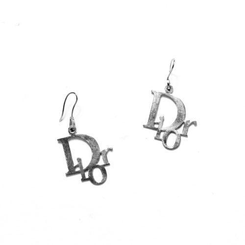 Dior Monogram logo Dangle Drop earrings