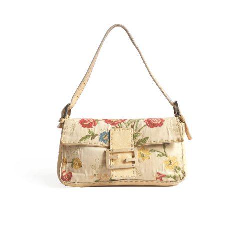 Fendi Floral Baguette Bag | NITRYL