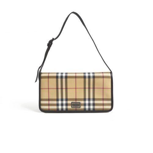 Burberry Vintage Nova Check Shoulder Bag
