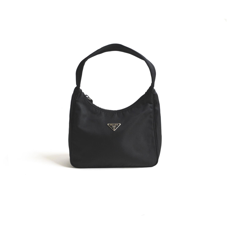 Prada Vintage Nylon Hobo Bag   NITRYL