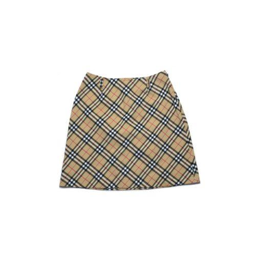 Vintage Burberry Blue Label Nova Check Mini skirt | NITRYL