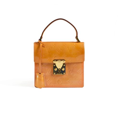 Vintage Louis Vuitton Vernis Spring Street Box Bag | NITRYL