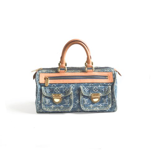Vintage Louis Vuitton Denim Neo Speedy | NITRYL