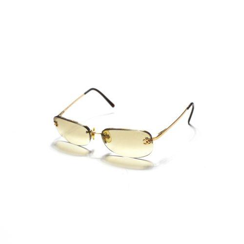Vintage Chanel Tinted Rimless Sunglasses | NITRYL