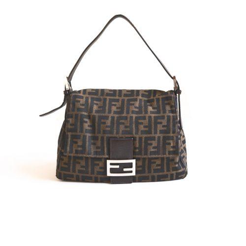 Vintage Fendi Zucca Mama Baguette Bag | NITRYL