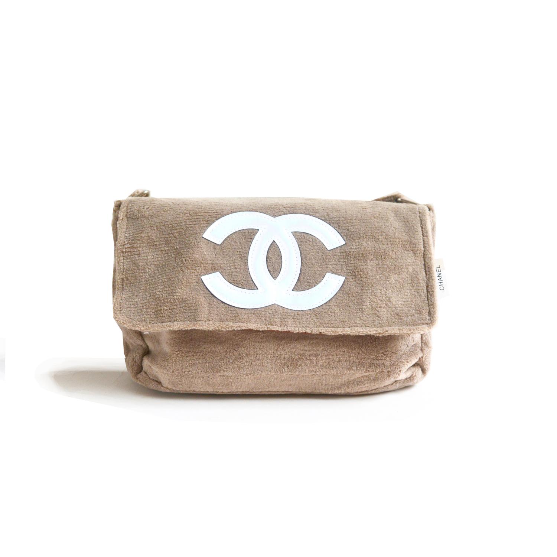 Chanel Precision VIP Side Bag in Brown Fluffy | NITRYL