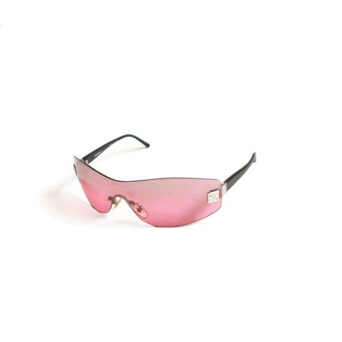 Vintage Chanel Rimless Pink Visor Sunglasses | NITRYL