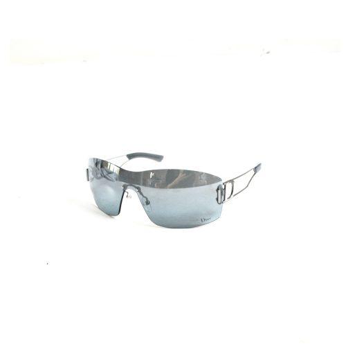 Dior Visor Shield Rimless Sunglasses in Grey | NITRYL