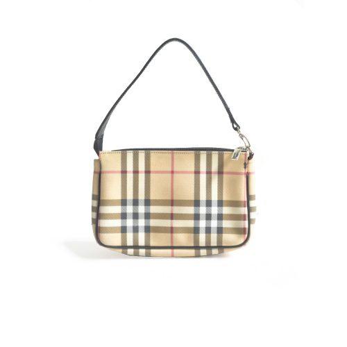 Vintage Burberry Nova Check Pochette Mini Bag   NITRYL