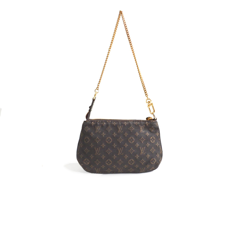 Vintage Louis Vuitton Canvas Mini Bag in Grey | NITRYL