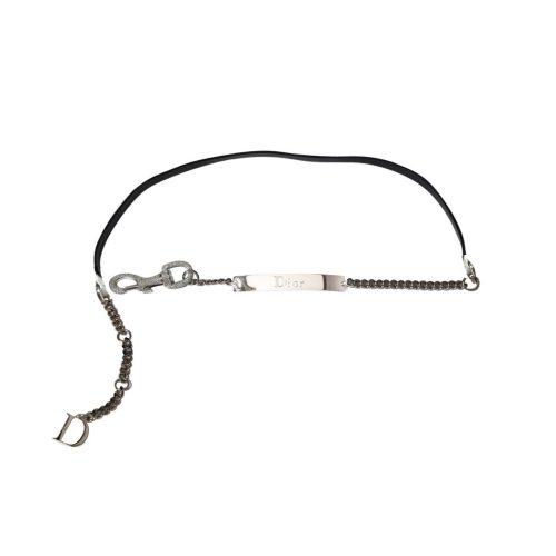 Vintage Dior Spring Diamante Chain Belt, Spring Summer 03 | NITRYL
