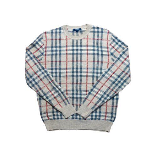 Vintage Burberry Nova Check Knitted Jumper Size M | NITRYL