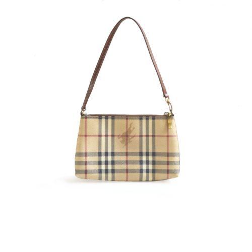 Vintage Burberry Nova Check Pochette Mini Bag | NITRYL