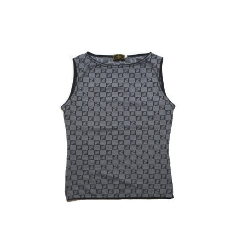 Vintage Fendi Monogram Vest Top | NITRYL