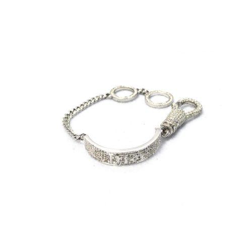 Rare Dior Diamante Tag Bracelet | NITRYL