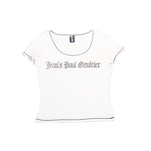 Jean Paul Gaultier Studded Spellout T-Shirt | NITRYL