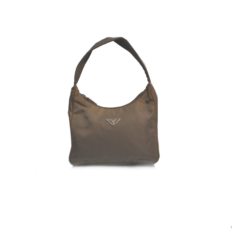Vintage Prada MV519 Hobo in Brown | NITRYL