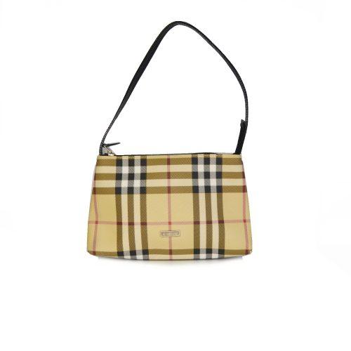 Vintage Burberry Nova Check Mini Pochette Shoulder Bag | NITRYL