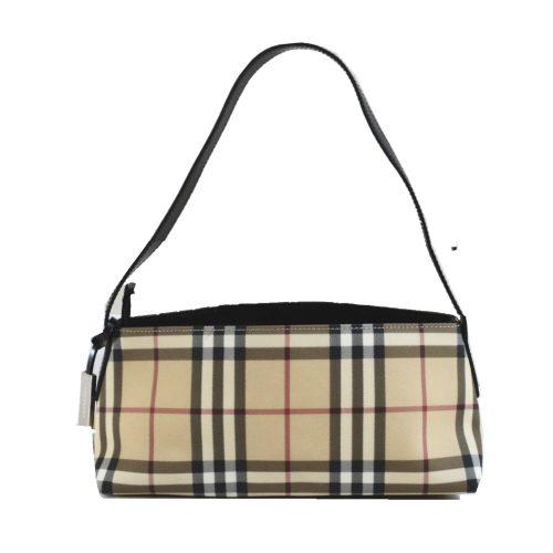 Vintage Burberry Nova Check Baguette Shoulder Bag | NITRYL