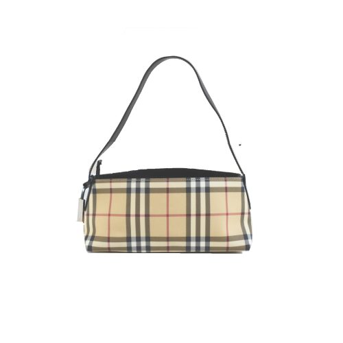 Vintage Burberry Nova Check Baguette Shoulder Bag | NITRYL