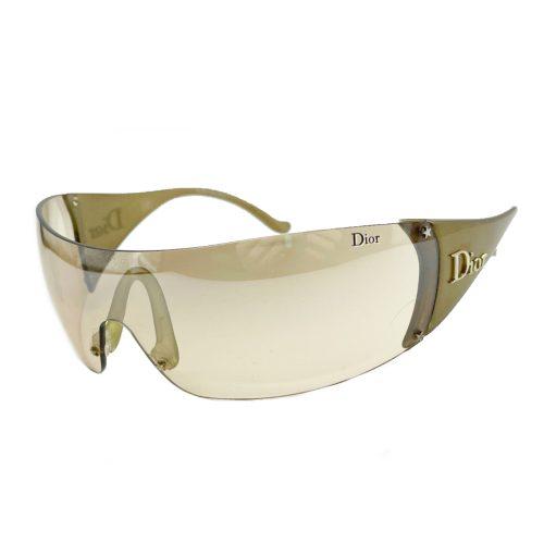 Vintage Dior Ski Visor Sunglasses in Bronze | NITRYL