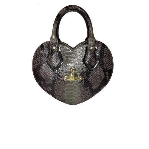 Vivienne Westwood Chancery Heart Bag in Grey   NITRYL