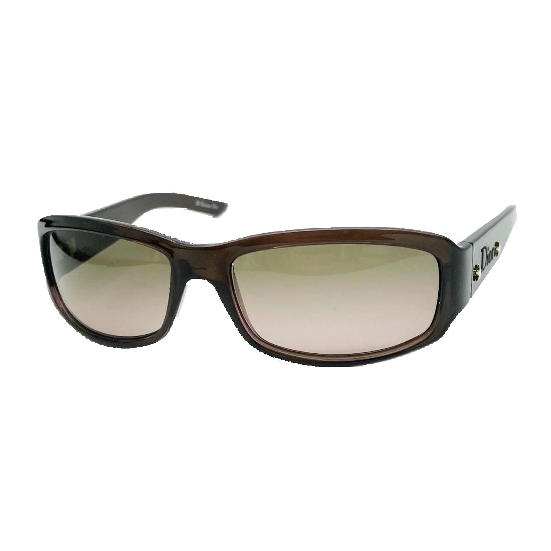 Vintage Dior Chunky Sunglasses in Brown | NITRYL