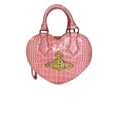 Vivienne Westwood Chancery Heart Bag in Pink | NITRYL