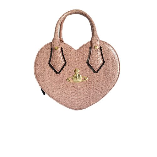 Vivienne Westwood Chancery Heart Bag in Blush Pink | NITRYL