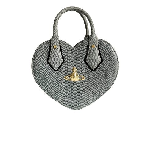 Vivienne Westwood Heart Chancery Bag in Grey | NITRYL