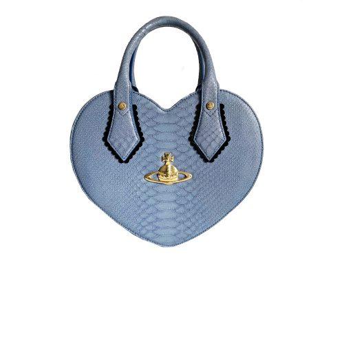 Vivienne Westwood Heart Chancery Bag in Baby Blue | NITRYL