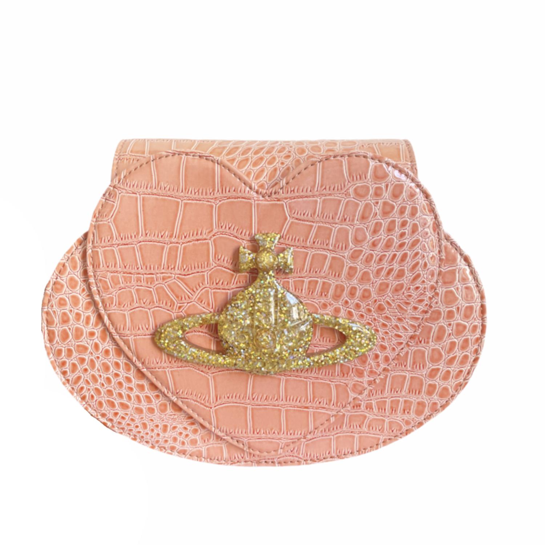 Vivienne Westwood Heart Crossbody Bag in Pink | NITRYL
