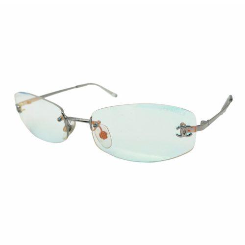 Vintage Chanel Rimless Iridescent Sunglasses | NITRYL