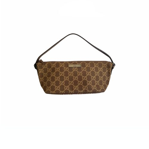 VIntage Gucci Pochette in Brown | NITRYL