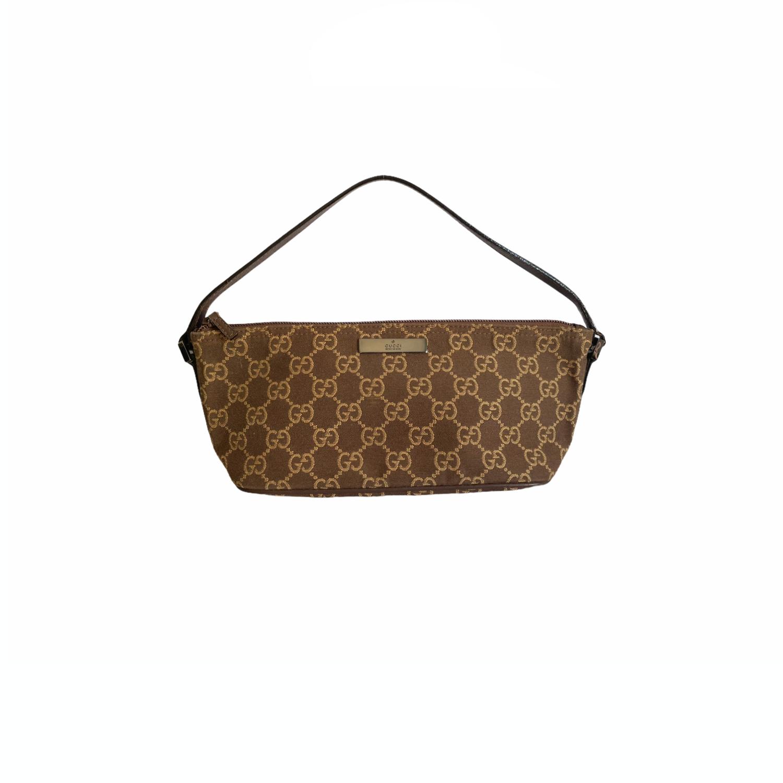 VIntage Gucci Pochette in Brown | NITRYL