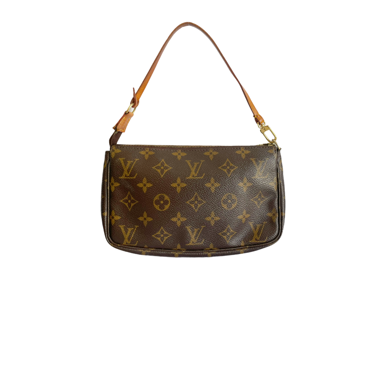 Vintage Louis Vuitton Monogram Shoulder Pochette | NITRYL