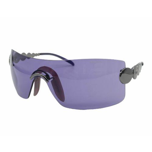 Vintage Dior Rimless Visor Sunglasses in Purple   NITRYL