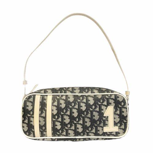 Vintage Dior Monogram Mini Baguette Should Bag | NITRYL