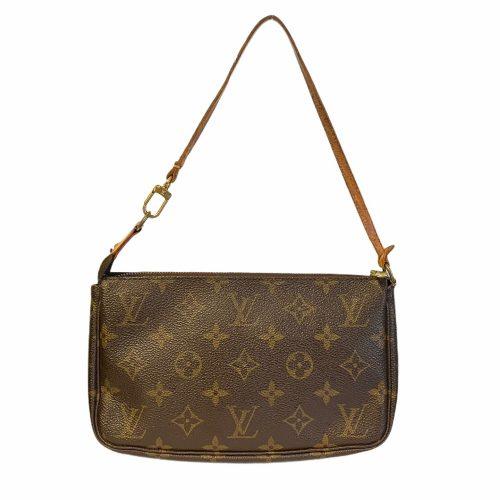 Vintage Louis Vuitton Monogram Pochette Mini Bag | NITRYL