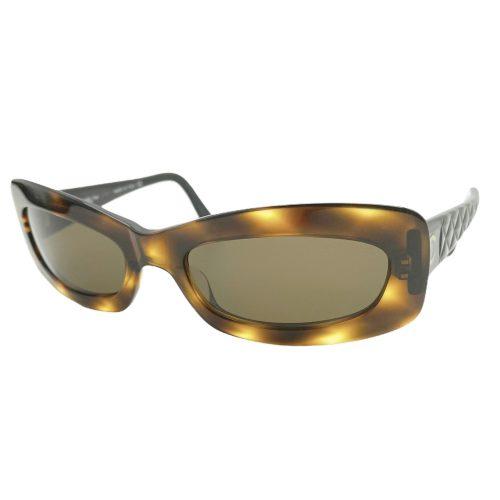 Vintage Chanel Chunky Logo Sunglasses in Tortoiseshell Brown | NITRYL