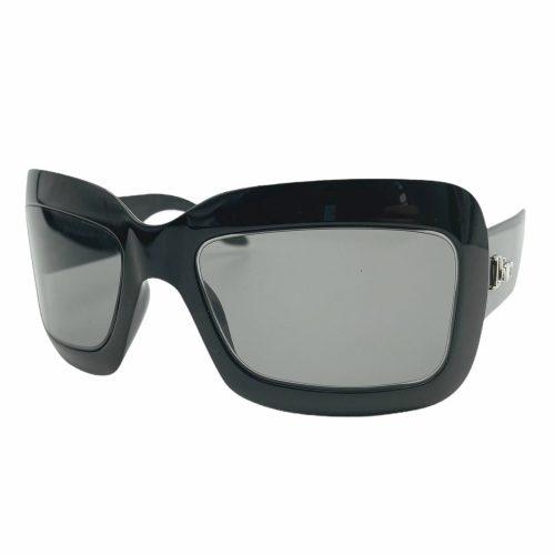 Vintage Dior Chunky Logo Sunglasses in Black | NITRYL
