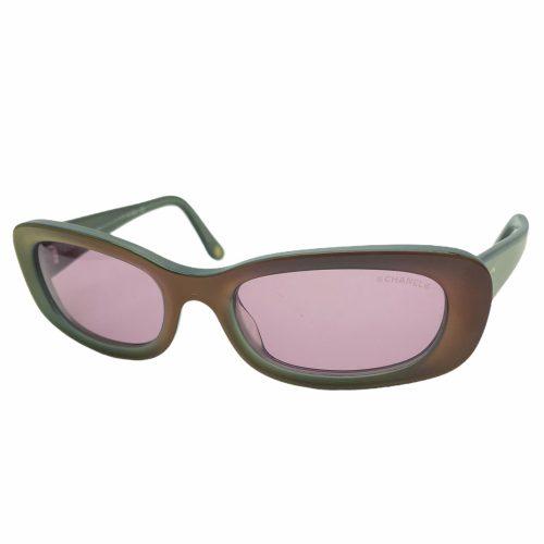 Vintage Chanel Chunky Logo Sunglasses in Multicolour | NITRYL