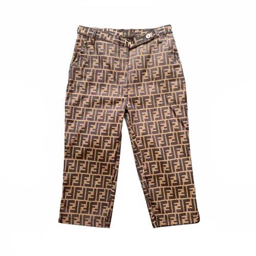 Vintage Fendi Zucca Monogram Shorts | NITRYL