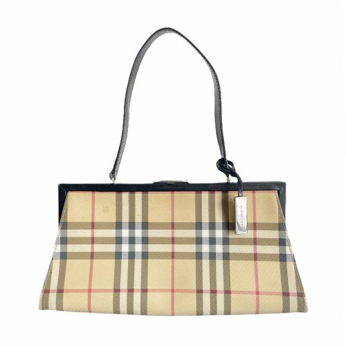 Vintage Burberry Nova Check Shoulder Bag | NITRYL